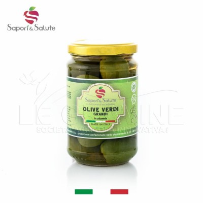 "Green olives ""Bella di Cerignola"""