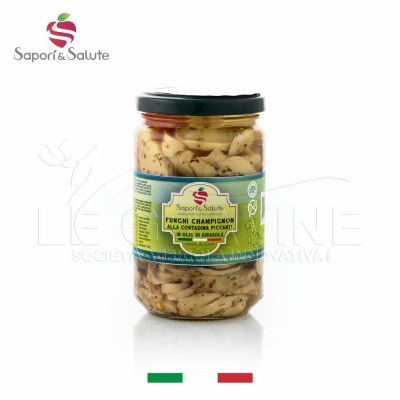"Chopped champignon mushrooms ""alla contadina"""