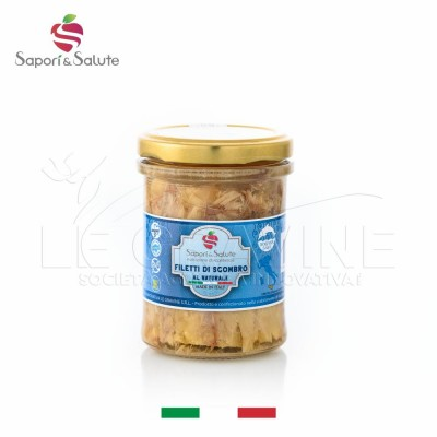 Filetti di sgombro al naturale