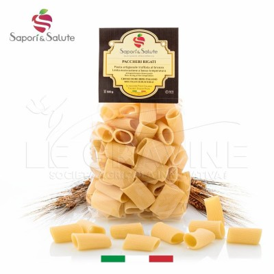 Striped paccheri